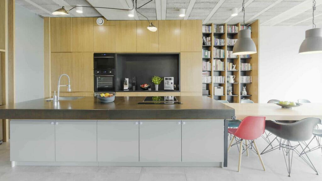 beton cire keuken - woonkeuken
