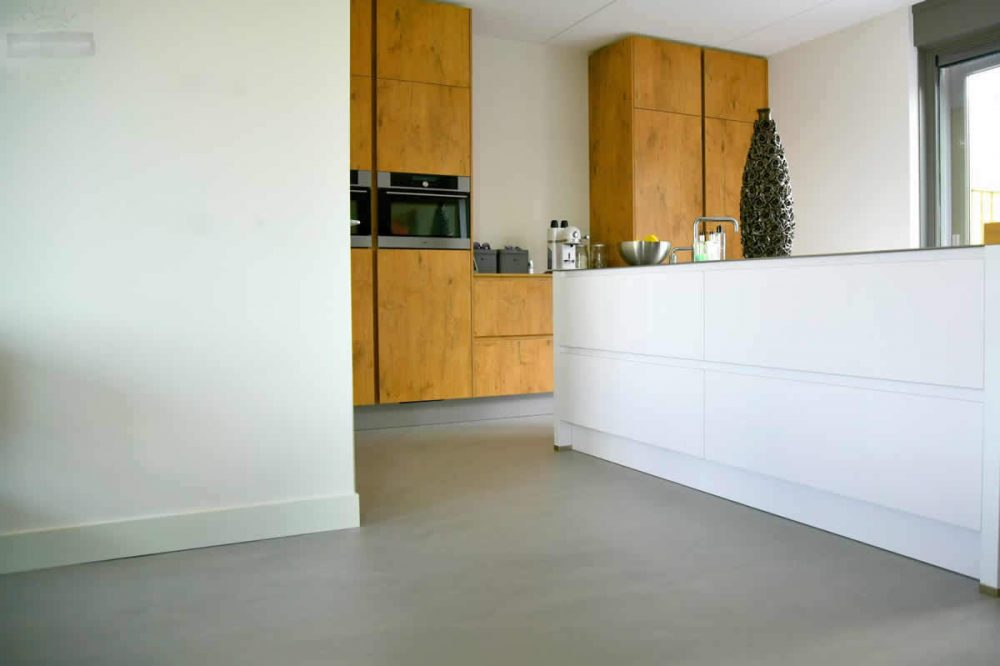 beton-cire-keukenvloer