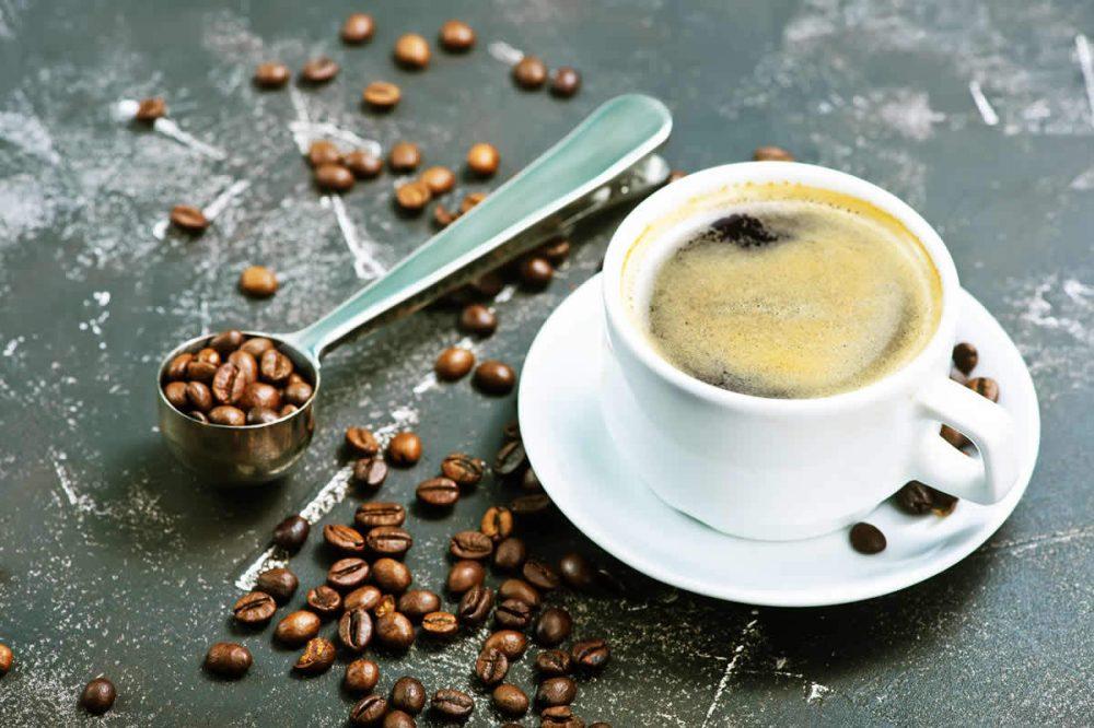 Koffie pauze tijdens de betonlook workshop