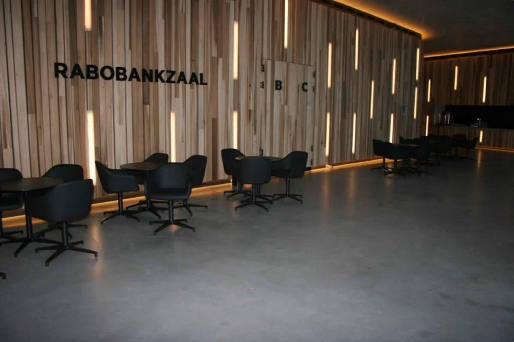 betonlook kantoor vloer
